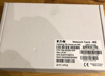 Eaton Ethernet Network Management Card Minislot Network-MS