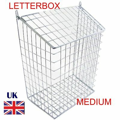 Letterbox cage Post Box Mail Door Cage Medium Cage Post Guard Protector