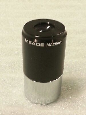 Meade Vintage MA 25mm Telescope Eyepiece 1.25 Inch Mount Made in Japan