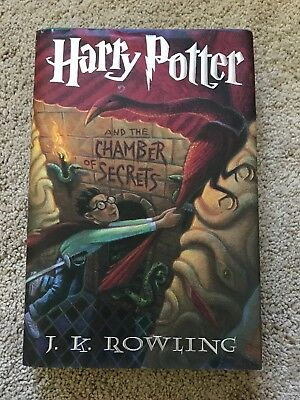 Harry Potter and the Chamber of Secrets by J. K. Rowling (1999, Hardcover)