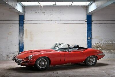 1972 Jaguar E-Type V12 OTS RHD Project Fully Matching Numbers Complete Car