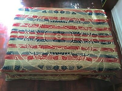 Woven Tied Beiderwand Coverlet, ca. 1870 Artist/Maker: Henry F. Stager - Eagle