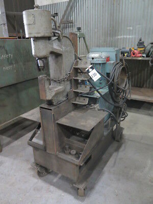 50 Ton Whitney MDL 751-007 Hydraulic Portable C Frame Fabricating Punch