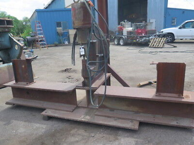 150 Ton Whitney MDL 715-024 Hydraulic Portable C Frame Metal Plate Punch