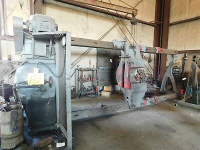 """300 Ton Caldwell Hydraulic Inclined Wheel Press Forcing Press 70""""x175"""""""