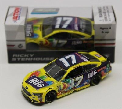2018 RICKY STENHOUSE #17 Little HUG 1:24 Diecast 505 Made In Stock Free Shipping