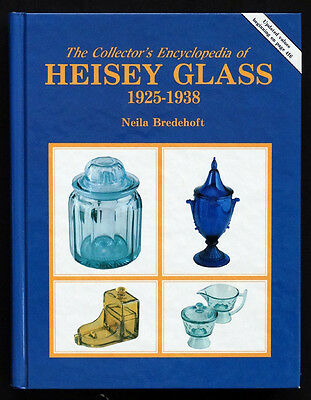Collector's Encyclopedia of HEISEY GLASS 1925-1938 Hardback Reference Book