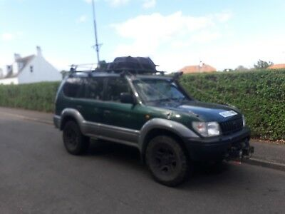 Toyota Land Cruiser Off Roader 4X4 Off Road Tyres Spares Repairs Winch