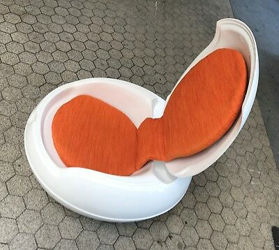 "Senftenberger Ei, Egg Chair, Designer Peter Ghyczy  ""DDR Design"""