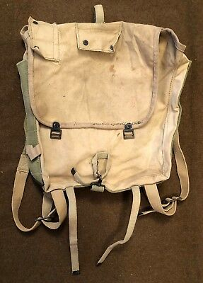 USMC WWII Depot Made Haversack M41 M1941 Pack Riveted