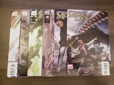 Moby Dick (2008 Marvel Illustrated) #1,2,3,4,5,6 | Roy Thomas Herman Melville