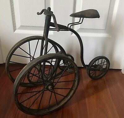 French Market Farmhouse Bicycle Rustic Country Vintage Style Home Decor