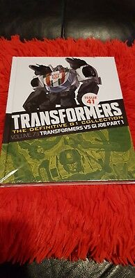 Transformers The Definitive G1 Collection - Issue 41 Transformers Vs Gi JoePart1