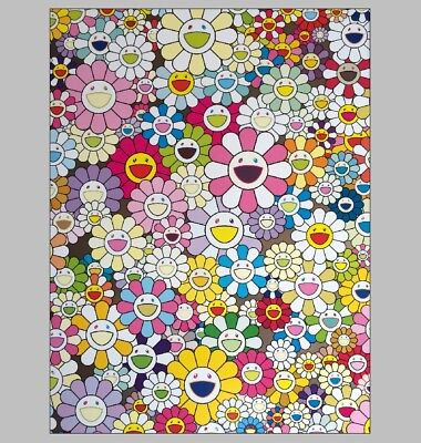 Murakami Takashi Japanese HD Print Art Home Decor Oil Painting on Canvas 24x32""