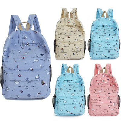 New Kids Backpack Girls Boys Schoolbag Bookbag Shoulder Children's School Bag US