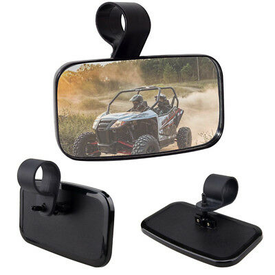 """2"""" UTV Offroad Side View Mirror for High Impact Break-Away Large Super Wide View"""