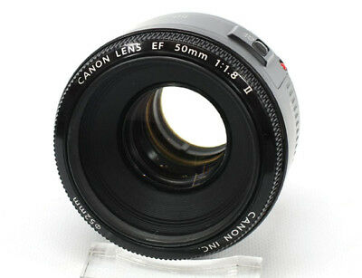 Canon EF 50 mm f/1.8 II Lens **EXCELLENT** Condition