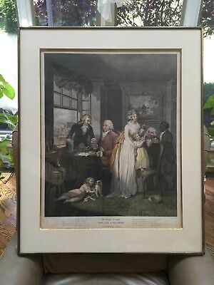 The Fruits of Early Industry & Oeconomy, Mezzotint Print by Dareis, G. Moreland