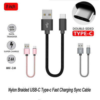 Fast Charging 2.4A USB Type C Cable USB-C Data Charger for Samsung S9 S8 Plus AU
