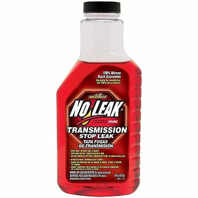 No Leak Gearbox Transmission Stops Fluid Leaks Restores Seals 16oz 473ml