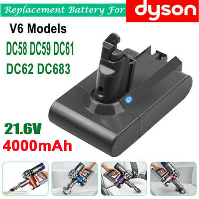 Li-ion Battery For Dyson V6 DC58 DC59 DC61 DC62 Animal Handheld Vacuum Cleaner