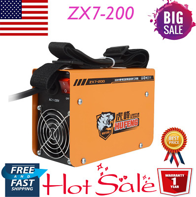 ZX7-200 Portable MMA ARC Welder DC IGBT Welding Machine Soldering Inverter 220V
