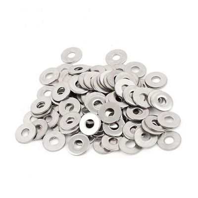 100pcs M3 3 mm metric 304 Stainless steel Flat washer A3T4 A4W8