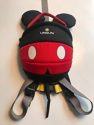Baby Reins/backpack Mickey Mouse