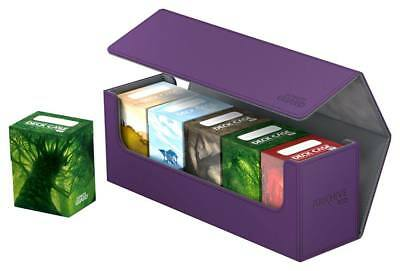 Ultimate Guard Flip Case Arkhive 400+ XenoSkin Violett Kartenbox Deck Boxen Box