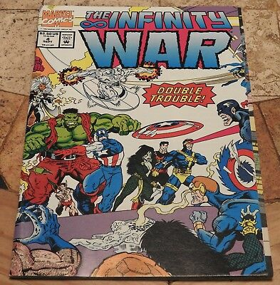 Infinity War #4 - NM+ - Beautiful white pages - 1992 Marvel Comics