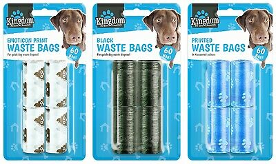DOGGY BAGS - Pet Pooper Scooper Bag Dog Cat Puppy Poo Waste Toilet Poop Refills