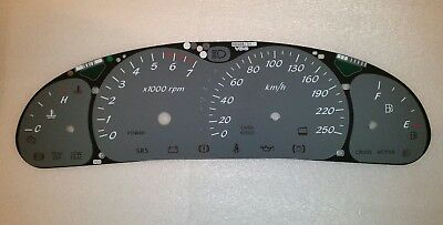 VT VX Holden Commodore 250kmh Grey Dial Dash Fascia also suits HSV SS WH VU Ute