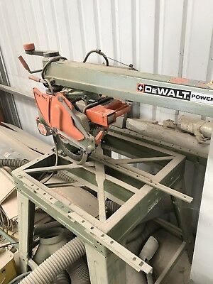 Dewalt Power Shop DW 1751, Radial Arm Saw, 240V cross cut saw Woodworking