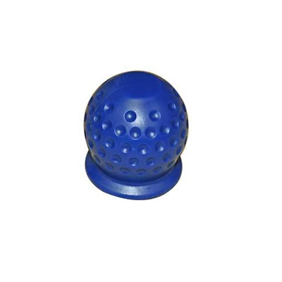 50mm Tow Ball Cover Cap Tow Hitch Caravan Trailer Towball Protecter BLUE
