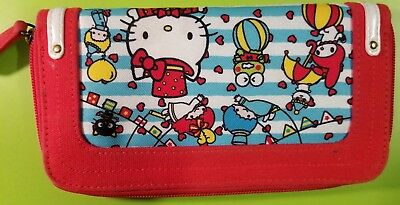 Loungefly Hello Kitty Long Wallet Clutch Coin Purse Wallet Credit Card Holder