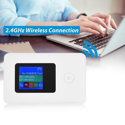 4G Modem LTE WiFi Router 150Mbps 2.4Ghz Mobile Wireless Hotspot w/ SIM Card Slot