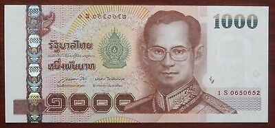 1000 Baht Serie 15 Sign. 85 Thailand Ersatzbanknote Replacement 1S UNC