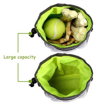 Puppy Pet Dog Obedience Training Treat Feed Bait Food Snack Pouch Belt Bags FI
