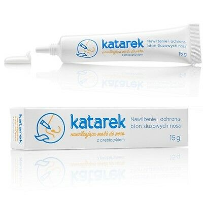 Katarek Baby Nasal Ointment with prebiotic15g for Children Nose na katar
