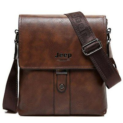 BORSA BULUO JEEP bag tracolla casual pelle pu leather men UOMO BORSELLO dwITnXxqd