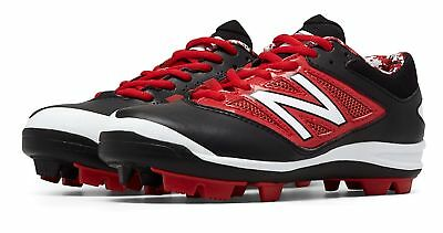 New Balance Kid's Low-Cut 4040v3 Rubber Molded Baseball Cleat Big Kids Male
