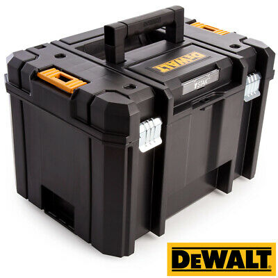 Dewalt DWST1-71195 T-Stak VI Deep Tool Storage Box 23 Litres Without Tote Tray