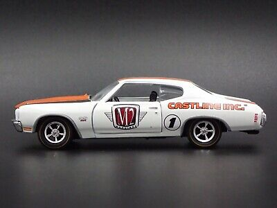 1970 Chevy Chevrolet Chevelle Ss 1:64 Collection Diorama Voiture Miniature