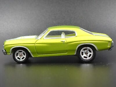 1970 Chevy Chevrolet Chevelle Ss Rare 1:64 Collection Voiture Miniature