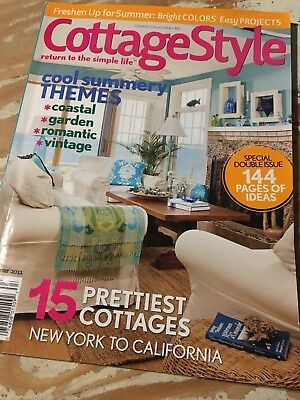 Cottage Style Magazine Summer 2017 Fresh Looks For Easy Living Double Issue