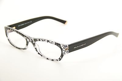 20887d82d25 New Authentic Dolce   Gabbana DG 3115 1895 Clear Black 51mm Frames  Eyeglasses RX