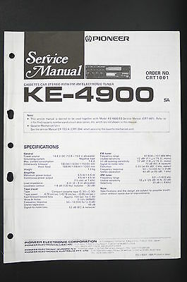 PIONEER KE-A380 CAR Stereo Cette Tuner Service Manual/Wiring ... on boeing 777 diagram, a330 diagram, a320 diagram, a350 diagram, aircraft diagram, boeing 787 diagram, f-15 diagram, boeing 747 diagram,