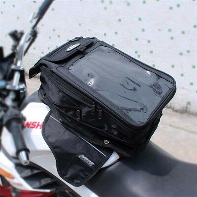 Waterproof Motorcycle Magnetic Fuel Tank Bag Seat Tail Bag Winter iPad MB08