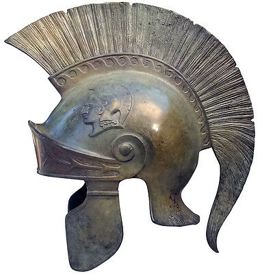 Roman Centurion 100% Bronze Helmet Museum Replica Reproduction