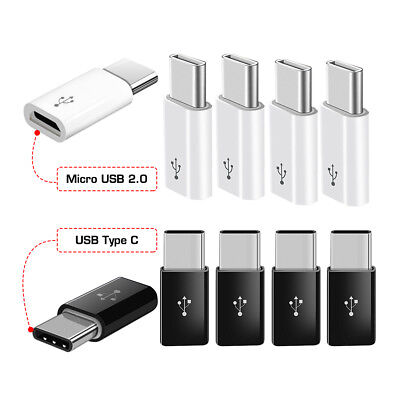 10X Micro USB 5 Pin Welding Type Male Plug Connectors Charger Plug white blackGX